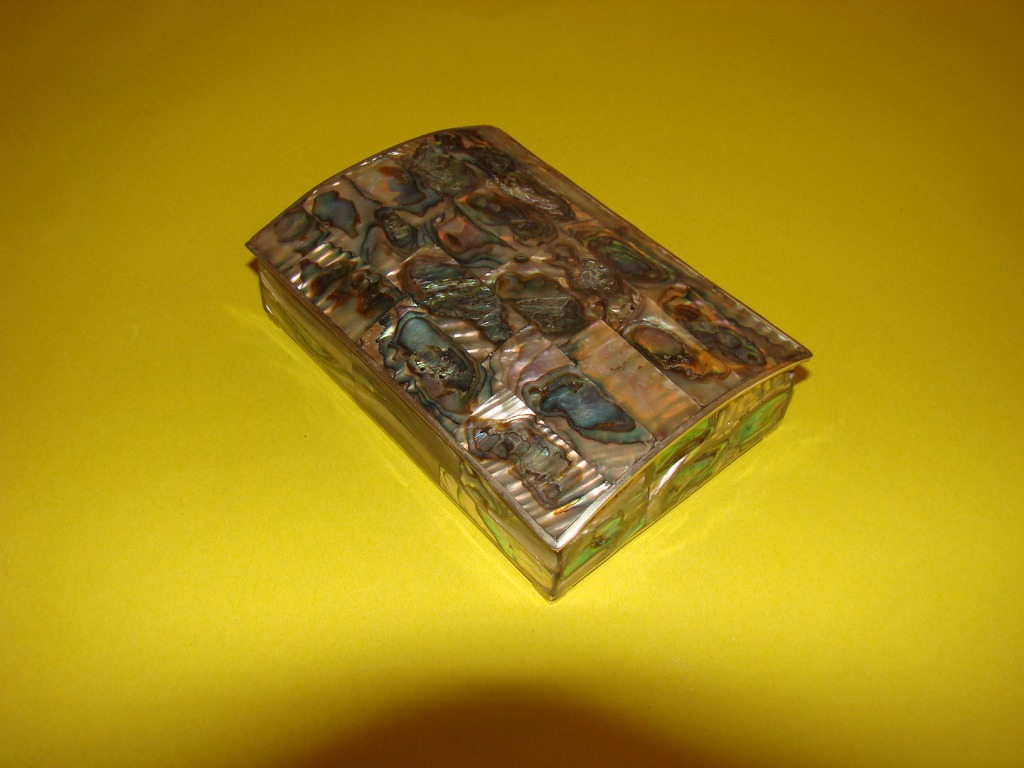 Mexican Treasure Chest trinket Box